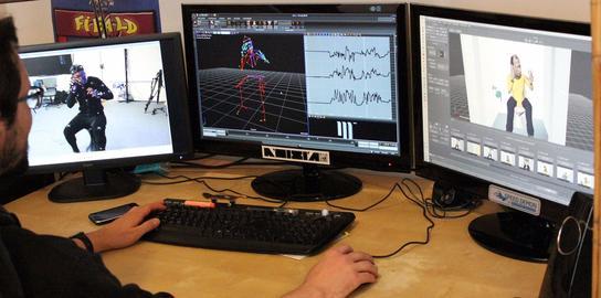 L'entreprise d'Aubervilliers est spécialisée dans la motion capture, la capture de mouvement.